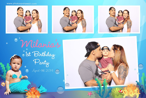 Milania's 1st Birthday (Fusion Portrait Station)