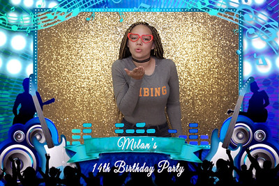 Milan's 14th birthday