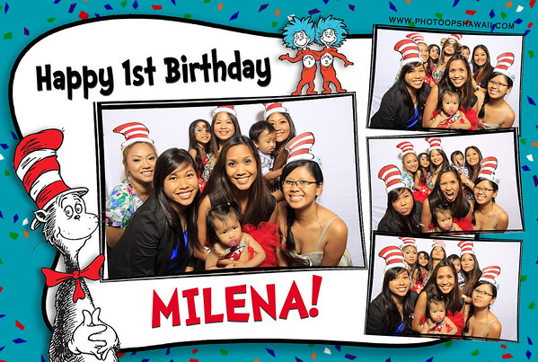 Milena's 1st Birthday (Fusion Portrait Station)