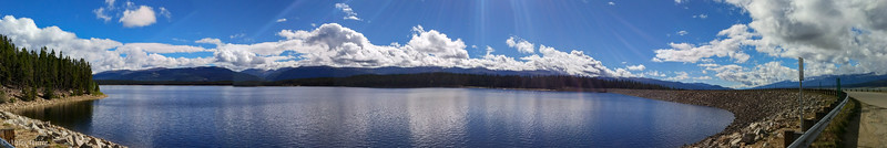 Turquoise Lake just west of Leadville. On my way to Hagerman Pass.