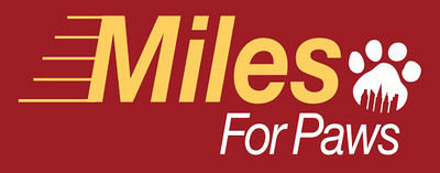 Miles For Paws Logos - Old