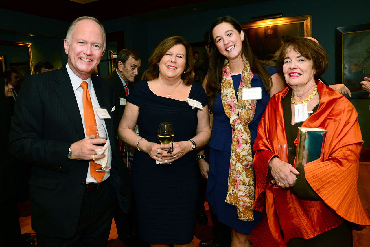 NEHGS Treasurer Bill Griffeth, Cindy Griffeth, Karen Woods, and NEHGS Councilor Bonnie A. Reilly.