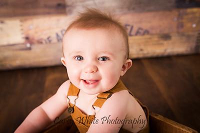 Wyatt: 8 Months