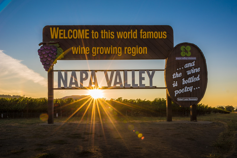 (Photo by Bob McClenahan for Napa Valley Vintners)<br /> Caption: Napa Valley was the first American Viticultural Area to be recognized in California in 1981.