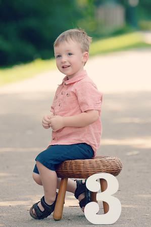 Carter is 3!