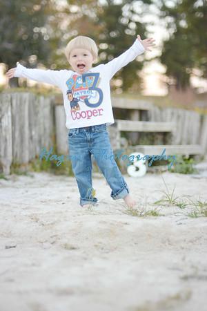 Cooper is 3!