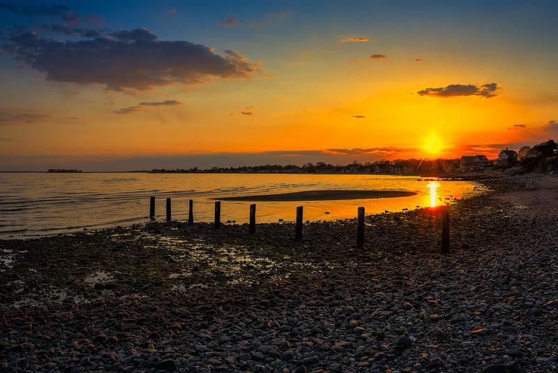 Sunset at Point Beach