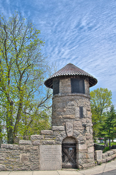 Old tower and spring