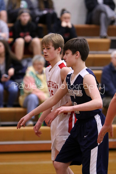 7th grade Red BB vs West Clermont  1/9/19