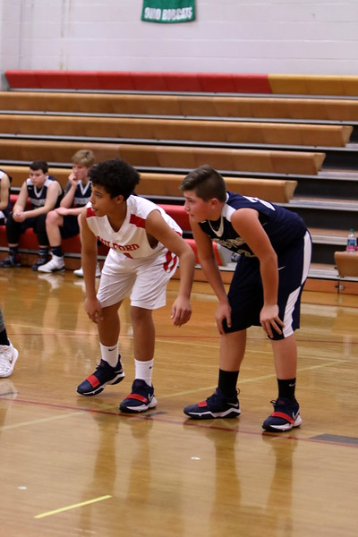7th grade boys BB vs West Clermont