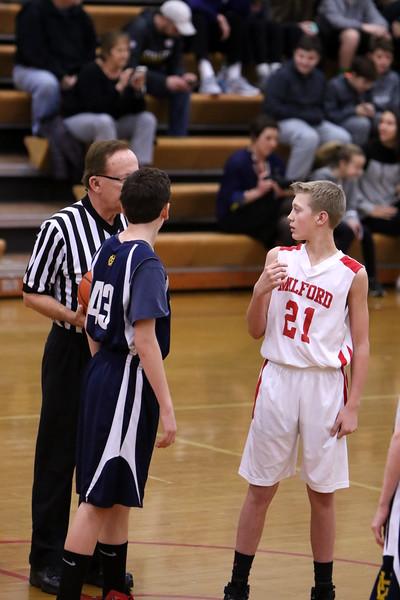 7th grade boys vs Walnut hills 1-30-17