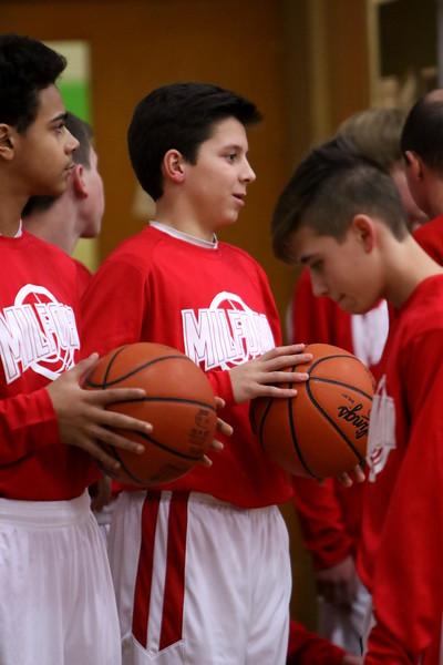 8th grade boys BB vs Walnut Hills