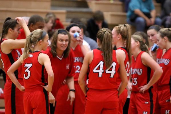 Girls Varsity basketball vs Anderson 1-14-17