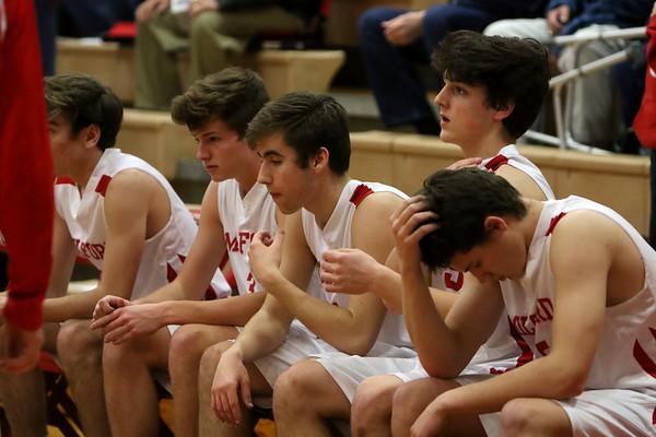 JV boys basketball vs Turpin 2-2-18