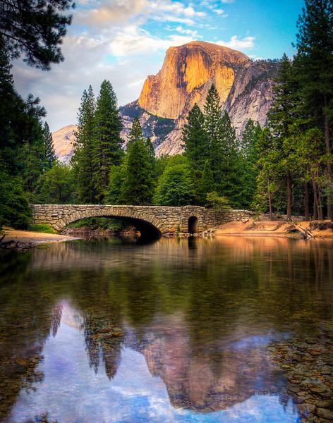 Yosemite Half Dome Reflection5
