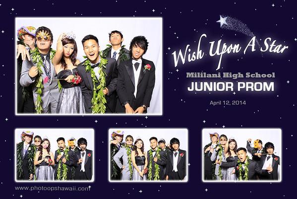 Mililani High School Jr. Prom (Fusion Portrait Station)