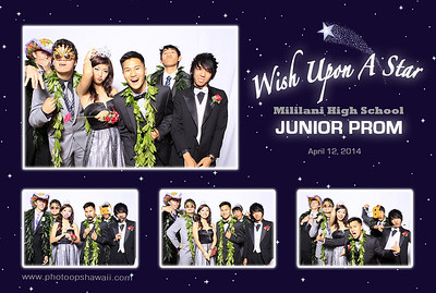 Mililani High School Jr. Prom (Fusion Portrait Station)