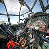 Avro Lancaster NX611 Just Jane cockpit. By David Stoddart