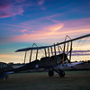 Aircraft B. E. 2e at Sunrise. By David Stoddart