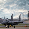 F15 Ready for take off at RAF Lakenheath. By David Stoddart
