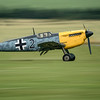 Bf 109 Buchon landing at Flying Legends 2016 By David Stoddart