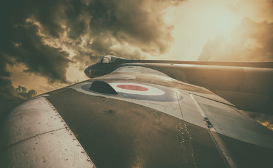 Hawker Hunter by David Stoddart