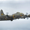 B-17 Flying Fortress G-BEDF Sally B. By David Stoddart