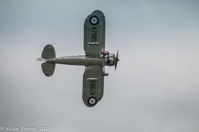 Gloster Gladiator.