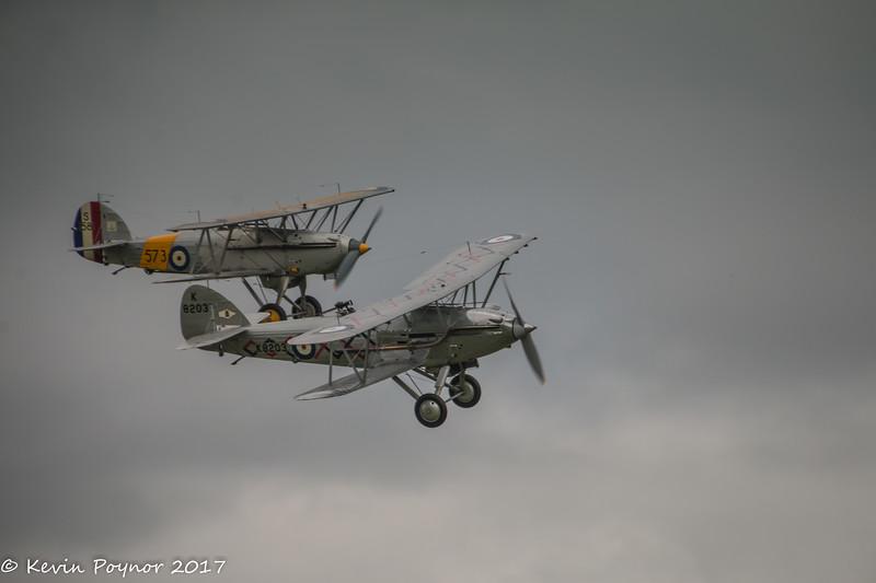 Hawker Nimrod and Hawker Demon