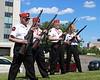 Marine Corps League gun salute team - READY!