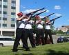 Marine Corps League gun salute team - FIRE!
