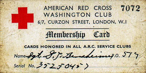 red cross club, london