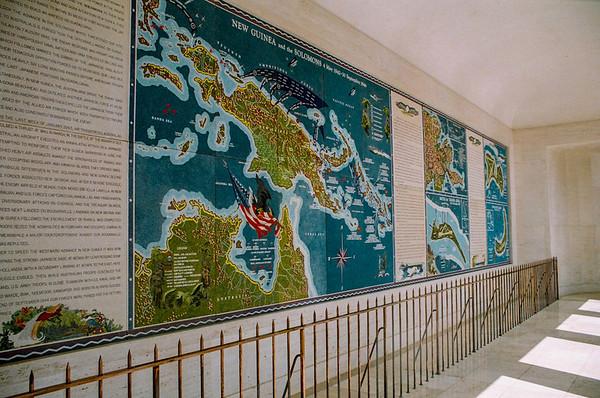 mural walkway