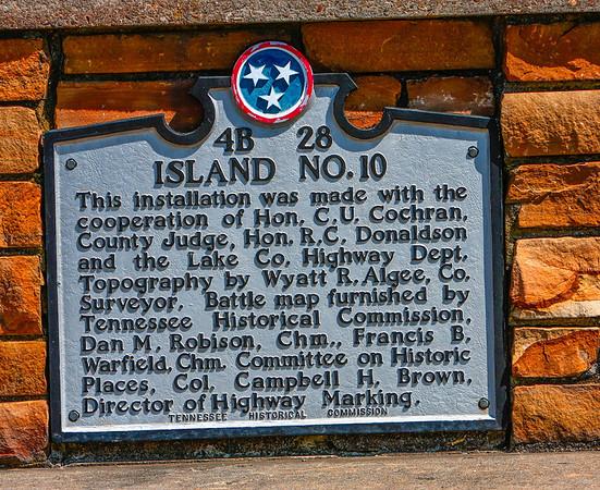 Island 10 Plaque