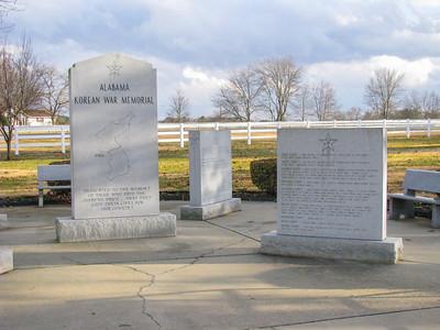 Korean War marker