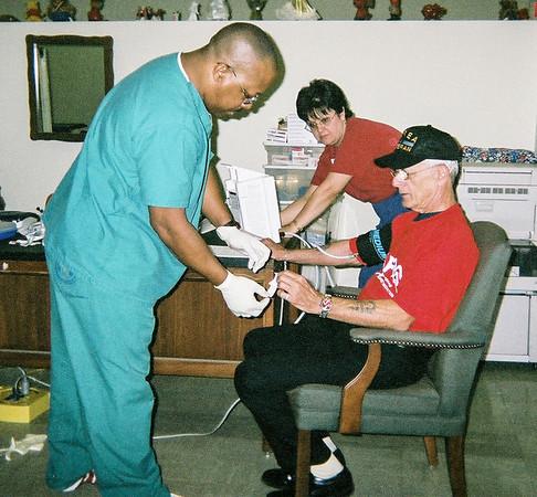 VA health screening