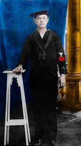 BM 1 Claude Roberts USN WWI
