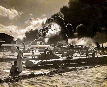 airstrip ablaze