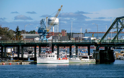 Naval base watertower