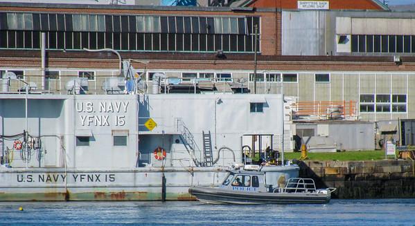 Navy Police Boat