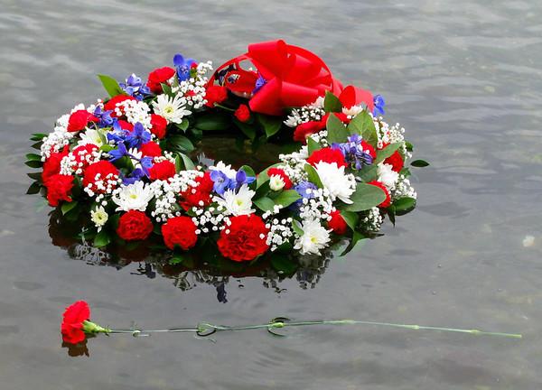 floating wreath