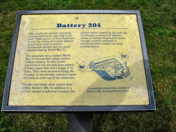 battery 204 marker