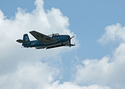 Grumman TBF Avenger torpedo bomber at the 2009 World War II weekend at Mid-Atlantic Air Museum in Reading, Pennsylvania
