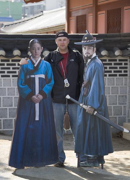 Touring Seoul, ROK, 2007.