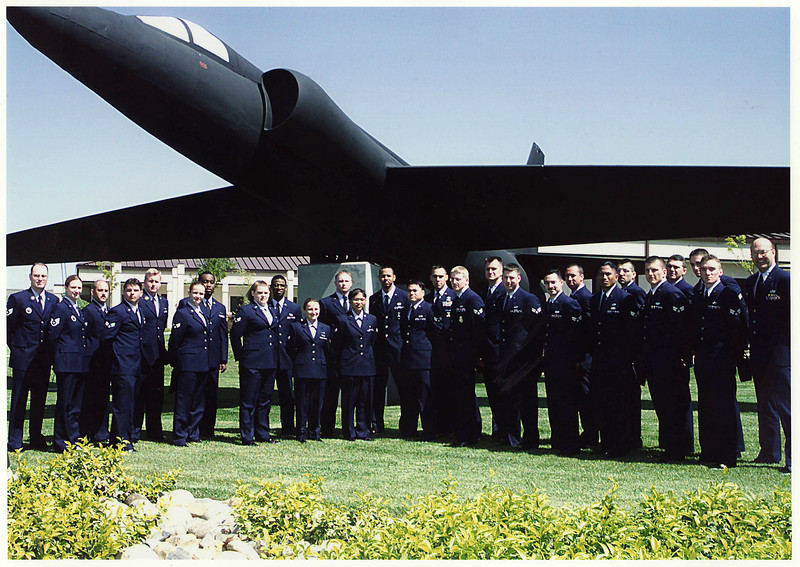 Airman Leadership School, Beale AFB, 2002 I think.