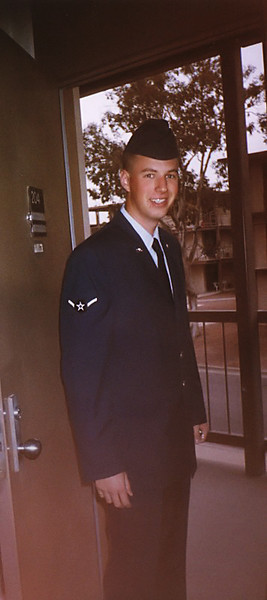 Taken in 1997-1998, dormitory on Davis-Monthan AFB, Arizona.