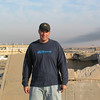 On top of a hardened aircraft shelter, Balad, Iraq, 2005.