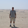 Wide open desert outside Kuwait City, Kuwait, 2002.