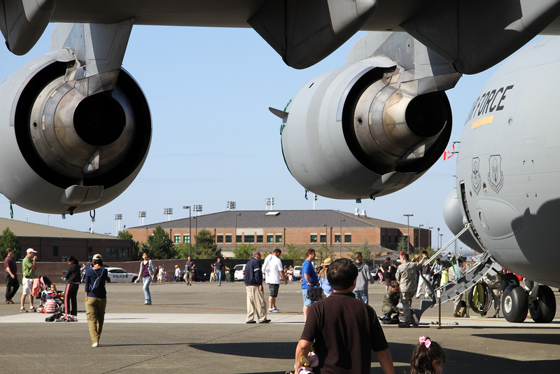 McChord Air Force Base Air Expo 841