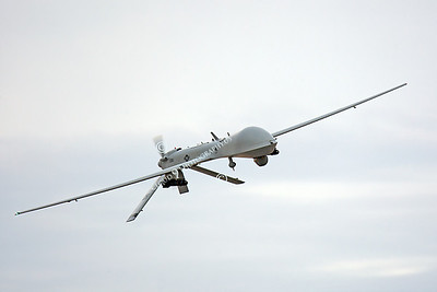 UAV 00003 General Atomics RQ-1A Predator USAF by Peter J Mancus